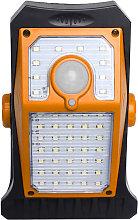 Lampada da parete solare con cornice a colori LED