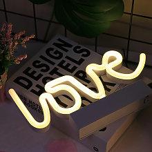 Lampada da stallo a luce al neon a LED piccola