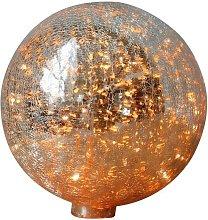 Lampada da tavolo 20 cm palla di vetro