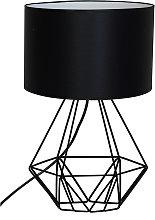 Lampada da tavolo Basket con stelo a cesto
