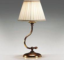 Lampada da tavolo Classic con stelo curvo
