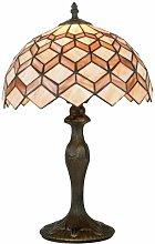 Lampada da tavolo con decorazioni astratte 60 watt