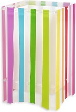 Lampada da tavolo Decoline a strisce colorate