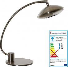 Lampada da tavolo design moderno LED paralume