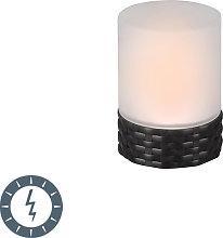 Lampada da tavolo effetto fiamma LED solare IP44 -
