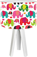 Lampada da tavolo Elefante per bimbi
