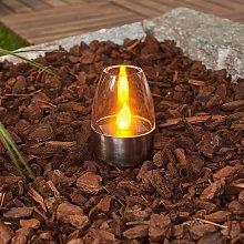 Lampada da tavolo LED solare Pedas set da 10