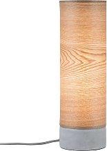 Lampada da tavolo Skadi in legno