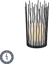 Lampada da tavolo solare fiamma LED IP44 - CORDO