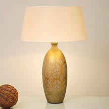 Lampada da tavolo Vaso Barocco, altezza 65 cm