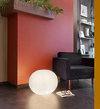 Lampada da terra a sfera design moderno interni