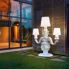 Lampada da terra candelabro design moderno Slide