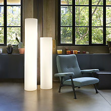 Lampada da terra cilindro luminoso design moderno