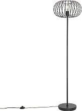 Lampada da terra design nera - JOHANNA