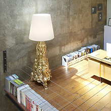 Lampada da terra LED stile barocco design moderno