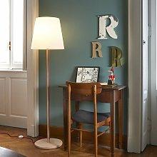 Lampada da terra tavolo legno polietilene design