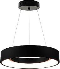 Lampada LED a sospensione BODO 1xLED/20W/230V nero