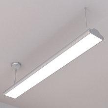 Lampada Lexine da ufficio, LED a luce neutra