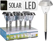 Lampada Solare 43Cm Accessori Giardino Esterno