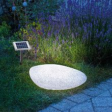 Lampada solare in pietra Lampada solare in pietra