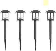 Lampada solare Piccola lampada da giardino Lampada