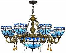 Lampadari In Stile Tiffany Lampada A Sospensione