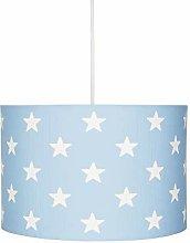 Lampadario a sospensione Stars blu/bianco