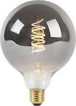Lampadina E27 LED 100lm 2100K fumo globo dimm