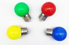 Lampadina LED attacco E27 Multicolor per