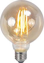 Lampadina LED E27 2200K 450lm dimm globo