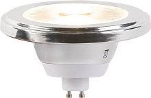 Lampadina LED GU10 AR111 2700K dimm
