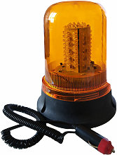 Lampeggiante 100 LED Segnalatore Emergenza Rotante