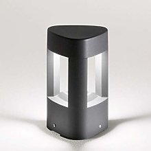 Lampioncino Alluminio Policarbonato Gea Led Ges493
