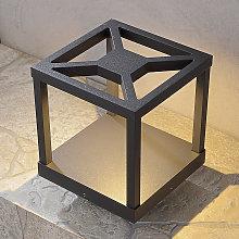 Lampioncino Lealand, design, lampadina a LED