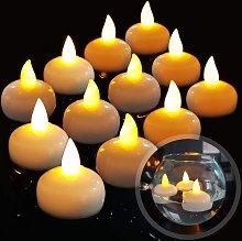 LangRay 12 LED candela galleggiante senza fiamma,