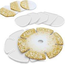 Langray - 6 pezzi stampo in silicone per mensola