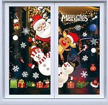 Langray - Adesivi per decorazioni natalizie,