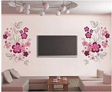 LangRay XXL adesivi murali fiori fiori viticci
