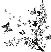 LangRay XXL adesivi murali viticci di fiori 1