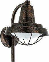 Lanterna da parete da esterno vintage faretto da