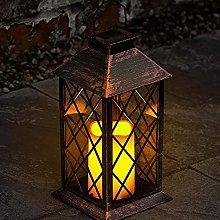 Lanterna da tavolo in rame solare - Lampada da