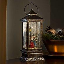 Lanterna decorativa alta Scenario invernale