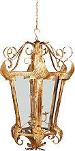 Lanterna Porta Candela in Ferro da Interno Esterno
