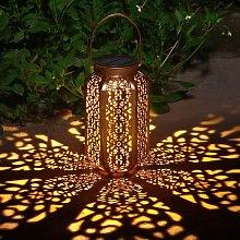 Lanterna solare da giardino, decorazione per