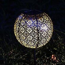 Lanterna solare Lampada da giardino pensile da
