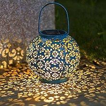 Lanterna solare luci luci da giardino pensili per