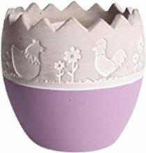 Larew - Vaso per fiori in cemento, creativo,