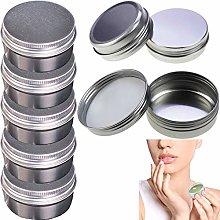Lattina di Metallo Cosmetica Vasetti di Alluminio