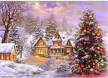 Lausra Kit Pittura Diamante 5D Albero di Natale