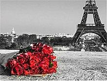 Lausra Kit Pittura Diamante 5D Bouquet di Rose